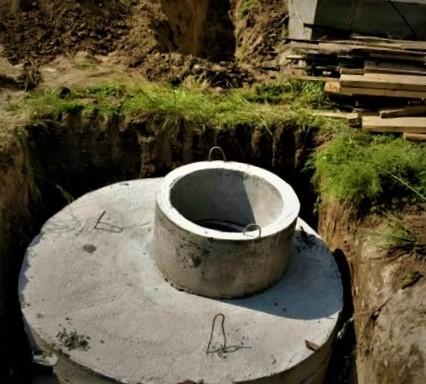 Резервуар для ливневой канализации