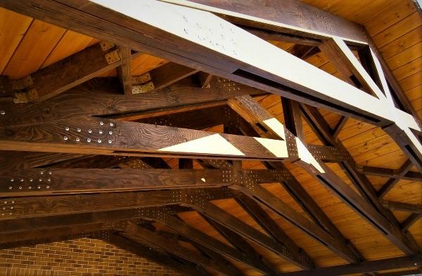 Крыша без потолка