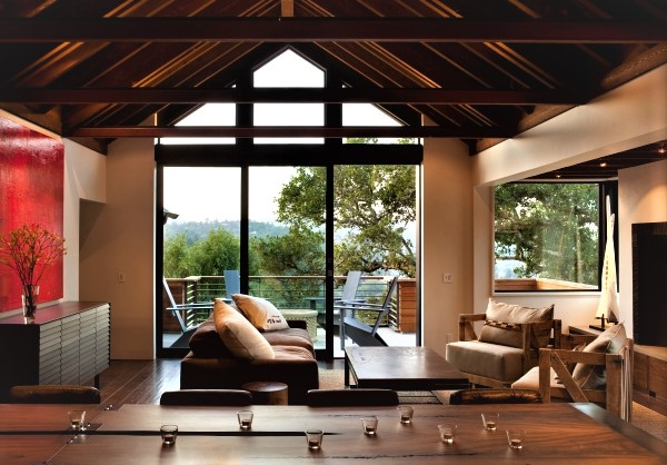 Частный дом без потолка (фото)